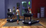 TS4 Treadmill Multitask