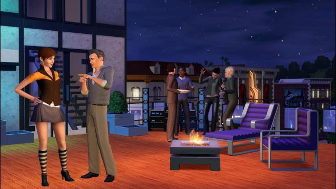The Sims 3: High-End Loft Stuff
