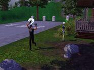 Visitor run away