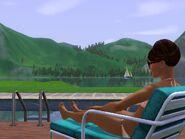Hidden Springs relaxing