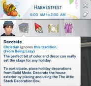 Ignoring traditions