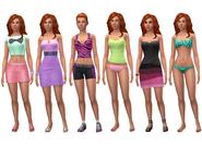 Nina Caliente ts4 wardrobe
