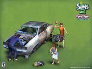 The-sims-car