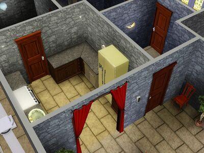 Casa fantoche la cocina versión de Luis Simspedia