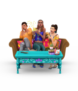 The Sims 4 Movie Hangout Render 01