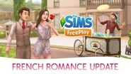 The Sims FreePlay French Romance Official Update Trailer