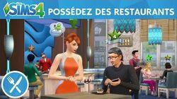 Les Sims 4 Au Restaurant - Gérez votre restaurant