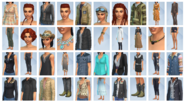 Sims4 Strangerville CAS
