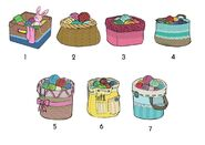 Knitting basket voting choices