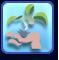 Con don para las plantas