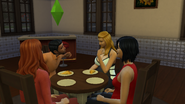 11. Brandon Flirts In Front of Janet and Meredith