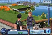 Sims 3 iPhone Screenshot