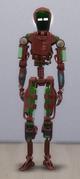TS4 Servo Red and Green