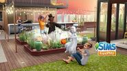 The Sims FreePlay Brilliant Backyards Update Trailer