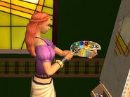 Natasha Una Painting