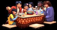 Sims 4 Escapada en la Nieve Render 1
