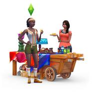 Sims4 Aventura en la Selva Render 2