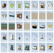 Sims 4 Vida en el Pueblo Objetos 2