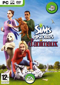 Jaquette Les Sims Histoires d'animaux.jpg