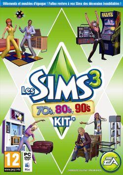 Jaquette Les Sims 3 70's 80's 90's.jpg