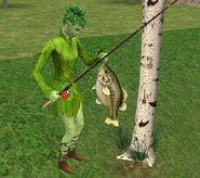 Ростоман на рыбалке