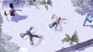 TS3 seasons winter snowangels