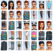 Sims 4 Portentos del Punto CAS 1