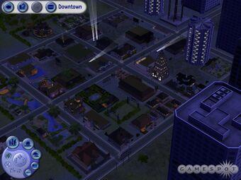 Centre Ville Les Sims 2 Simpedia Wiki Les Sims Fandom