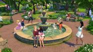 Sims4 Jardin Romantico 3