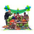 The sims 4 Anniversary