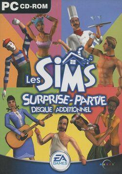 Jaquette Les Sims Surprise-partie.jpg