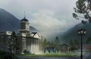 Moonlight Falls city hall concept art 2