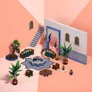 Oasis en el patio render 4