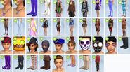 Sims 4 Escalofriante CAS