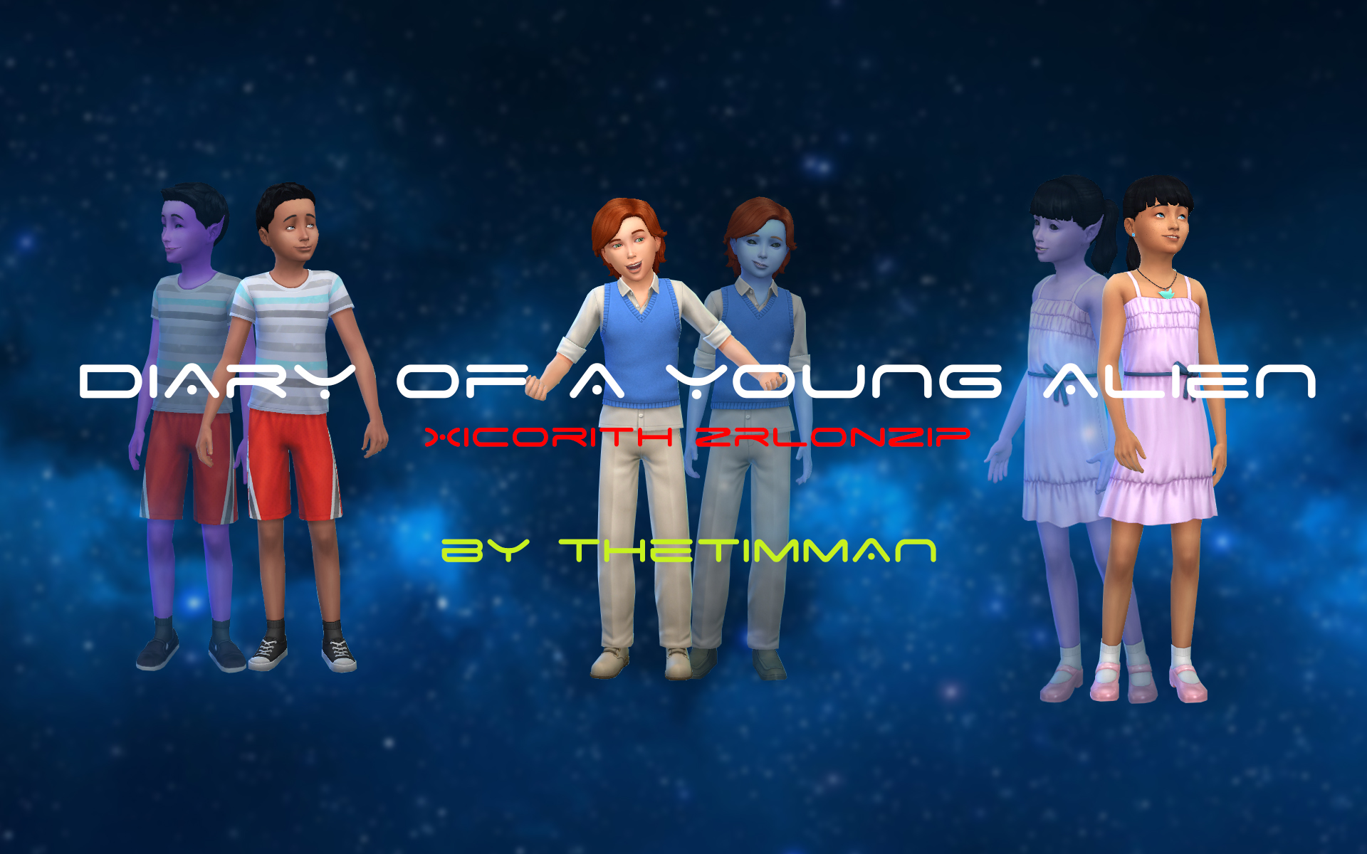 Diary of a Young Alien 2