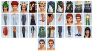 Sims4 Felices Fiestas CAS