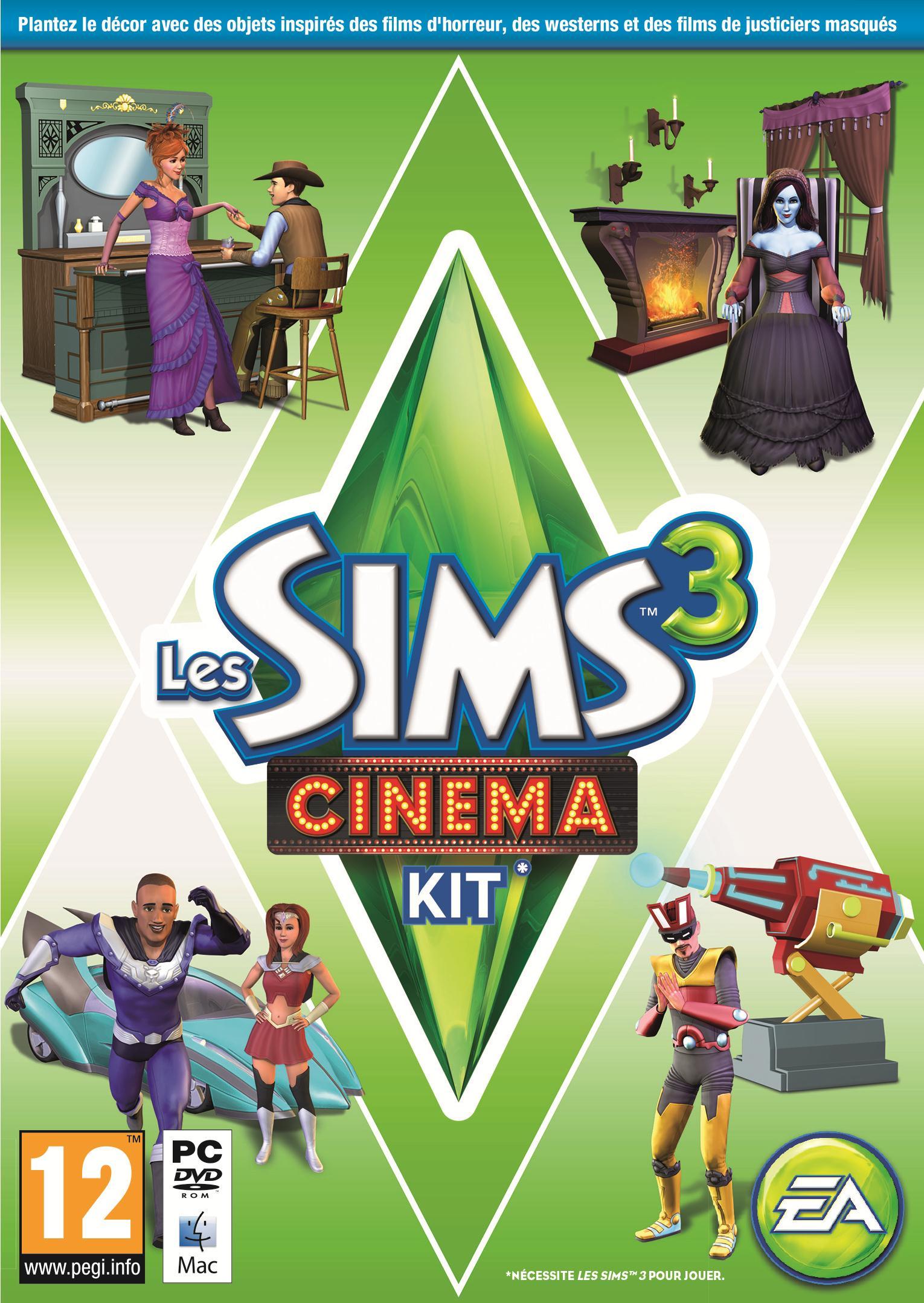 Les Sims 3: Cinéma
