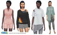 Sims 4 Vida Ecologica Arte Conceptual 1