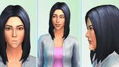 TS4 CAS Womanblackhair