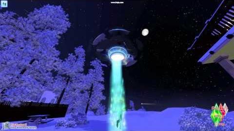 Les sims 3 saisons Alien Abduction