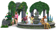 Sims4 Jardin Romantico render1