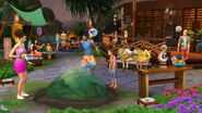 The Sims 4 Island Living Screenshot 01