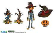 Sims 4 Y las 4 Estaciones Arte Conceptual 3