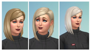 TS4 Patch 113 hair colors 1
