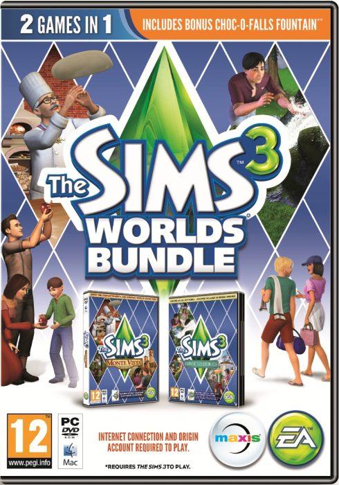 Los Sims 3: Mundos Sims