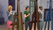 TS4 Live paintingsims