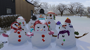 Snowpals in the Sims 4