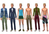 Johnny Zest wardrobe