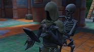 Смерть и скелет