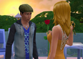Ollie and Babs in The Sims 4 Stories video